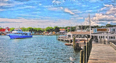 Photograph - Hyannis Harbor by Gina Cormier