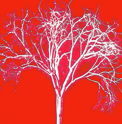 Imagination Tree Art Print by James Mancini Heath