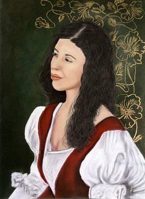 Pastel - Lady Lauren by Jan Amiss