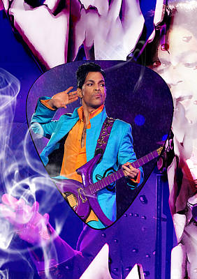 Prince Purple Rain Art Art Print