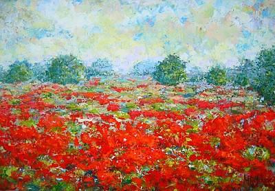 Painting - Summer by Mirjana Gotovac