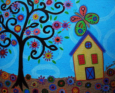 Carter House Painting - Whimsyland by Pristine Cartera Turkus