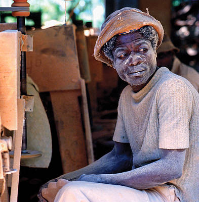 Photograph - Wood Worker by Johnny Sandaire