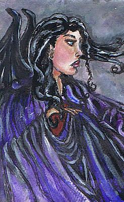 Painting - Zelendia Of Ravenswood by Janice T Keller-Kimball