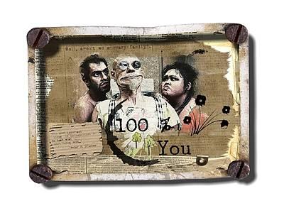 Digital Art - 100 Percent Of It's You by Larisa Isaeva