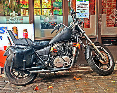 Photograph - 1983 Vt750 C Honda Shadow by Greg Sigrist