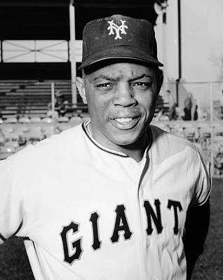 Willie Mays (1931- ) Art Print by Granger