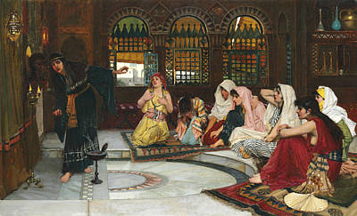 Consult Painting - Consulting The Oracle by John William Waterhouse
