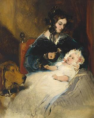 Duchess Painting - Sir Edwin Henry Landseer by MotionAge Designs
