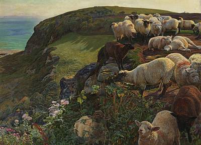 Garden Fruits - Our English Coasts by William Holman Hunt