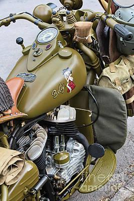 Photograph - 42wlc Harley Davidson by Tim Gainey
