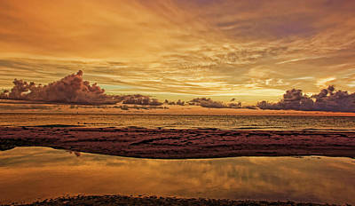Photograph - A Peaceful Ending by HH Photography of Florida