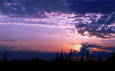 Photograph - A Queit Sunset by Gary Brandes