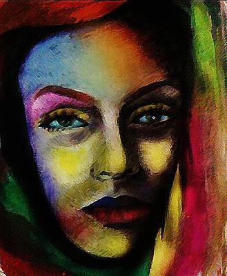 Disappointed Painting - A Women Inside... by Maryam Mughal