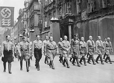 National Socialism Photograph - Adolf Hitler, Hermann Goering by Everett