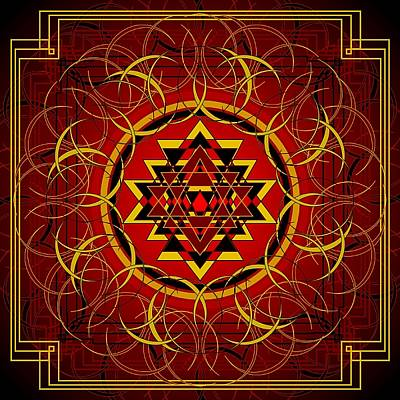 Digital Art - Agni 2012 by Kathryn Strick