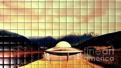 Science Fiction Digital Art - Alien Craft by Raphael Terra