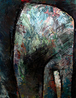 High Key Painting - All Doorways Are An Opportunity by Charlie Spear
