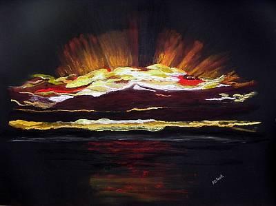 Almost Sunrise Art Print by Diane Frick