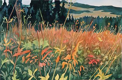 Alpine Autumn Art Print