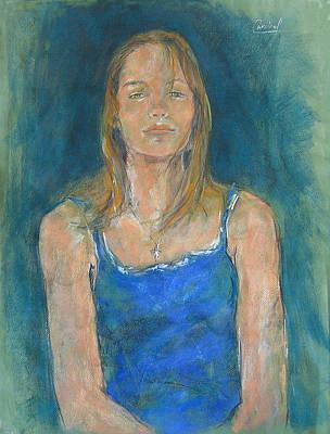 Anastasia Art Print by Debora Cardaci