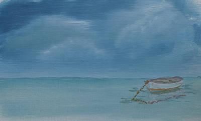 Kugler Painting - Anchored by Scott Kugler