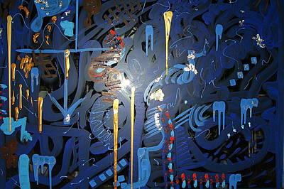Art Fusing 2 Art Print by Svetlana Vinokurtsev