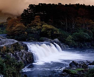 Photograph - Ashleigh Falls, County Mayo, Ireland by The Irish Image Collection