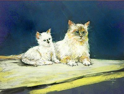 Painting - Attenti Al Cane by Debora Cardaci