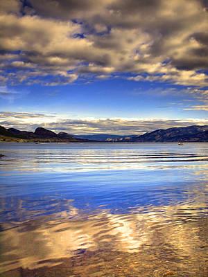 Okanagan Lake Photograph - August 8 2010 by Tara Turner