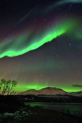 Polaris Photograph - Aurora Borealis by John Hemmingsen