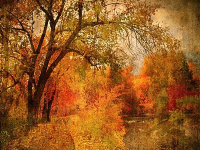 Autumn Pathways Art Print by Tara Turner