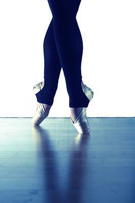 Ballet Feet 1 Art Print by Scott Sawyer