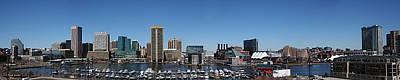 Photograph - Baltimore Inner Harbor by Van Corey