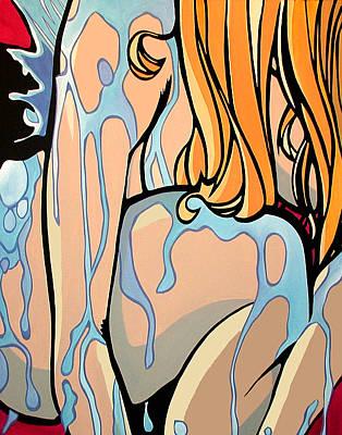 Bathtime Art Print by Tom Fedro - Fidostudio