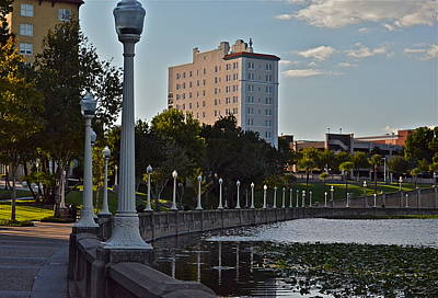 Photograph - Beautiful Downtown Lakeland by Carol  Bradley