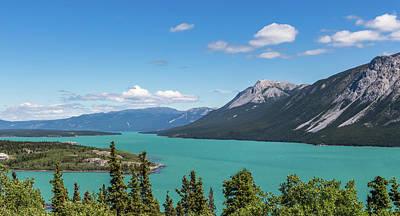 Photograph - Bennett Lake 2 by Ed Clark