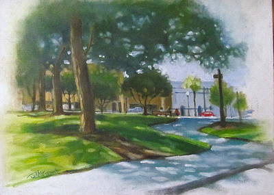 Brick City Ocala Fl Art Print