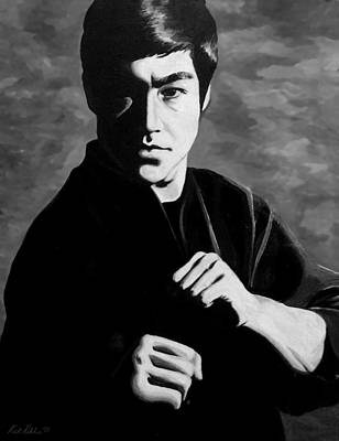 Bruce Art Painting - Bruce Lee by Rick Ritchie