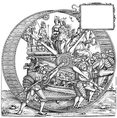 Drawing - Burgkmair - Maximilian by Granger