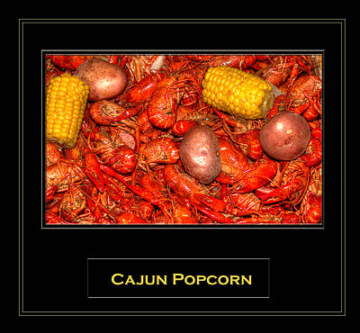 Cajun Popcorn Art Print by Barry Jones