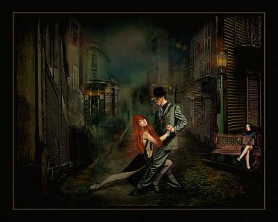 Villalba Photograph - Callejon De Tango by Raul Villalba