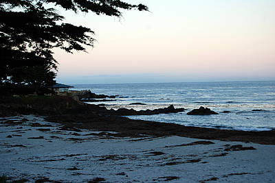 Carmel Beach Awakes Art Print