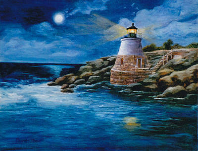 Painting - Castle Hill Light by Brenda Thour
