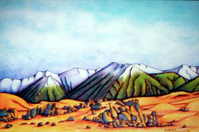 Painting - Castle Hill Si Nz by Barbara Stirrup