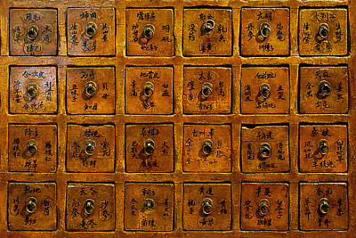 Chinese Herbs Photograph - Chinese Apothecary by John Greim
