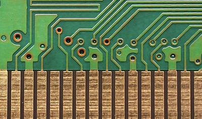 Circuit Life Print by Patrick English