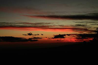 Clouds At Sunset Art Print by Gilbert Artiaga