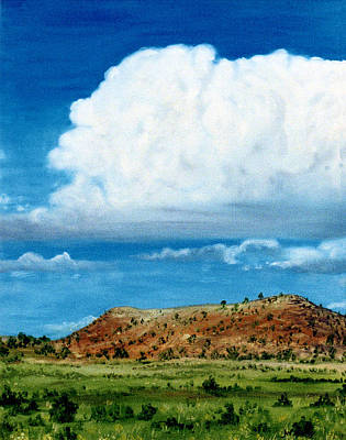 Painting - Clouds Over Grants by Jan Amiss
