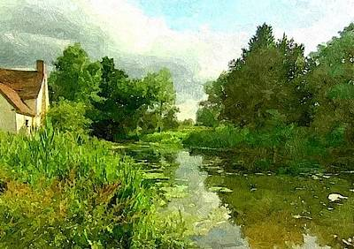 Painting - Constable Country by Wu Wei